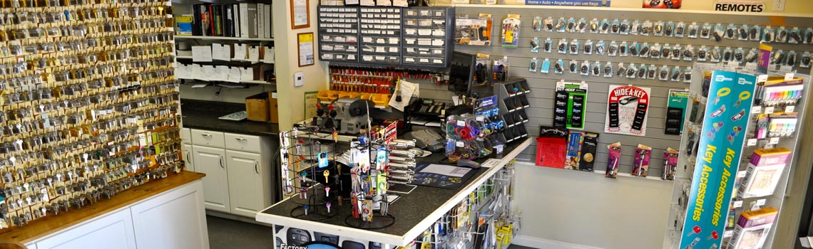 Convenient Walk-In Lock Shops