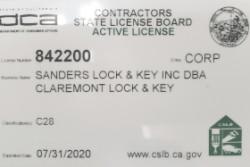 Contractors State License 2020